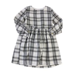 Carter's Girls Plaid Holiday Dress, Size 4T